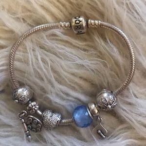 Pandora Bracelet with charms💙